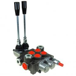 Distribuitor hidraulic cu 2 manete 40L
