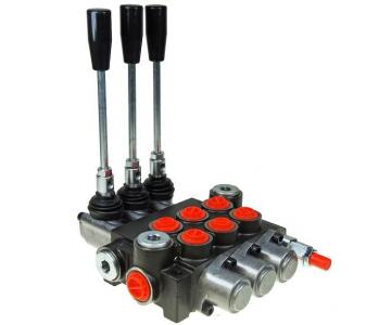 Distribuitor hidraulic cu 3 manete 40L