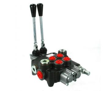 Distribuitor hidraulic cu 2 manete 80L