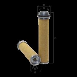 Filtru aer secundar Case-IH, Claas / Renault, Fendt