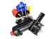 Corp pulverizator triplu rotativ, de capat
