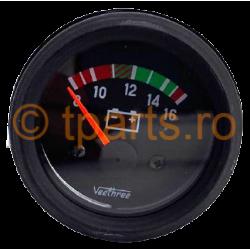 Ceas indicator tensiune 52mm (voltmetru)