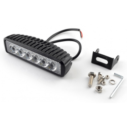 874/14/TP - Lampa LED (6*3W) 12-24V, 1440LM, SPOT