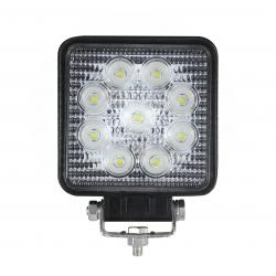 874/9/TP - Lampa LED (9*3W) 12-24V, 1620LM, SPOT