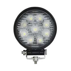 874/8/TP - Lampa LED rotunda (9*3W) 12-24V, 1620LM, FLOOD