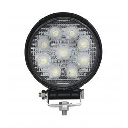 874/7/TP - Lampa LED rotunda (9*3W) 12-24V, 1620LM, SPOT